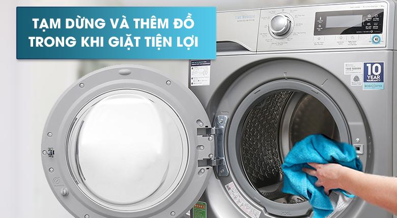 Chức năng Add Clothes - Máy giặt Electrolux Inverter 9kg EWF12938S