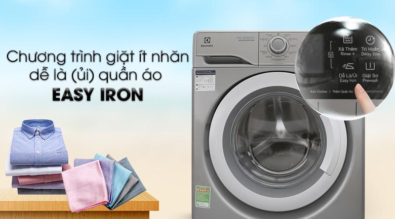 Easy Iron - Máy giặt Electrolux Inverter 9kg EWF12938S