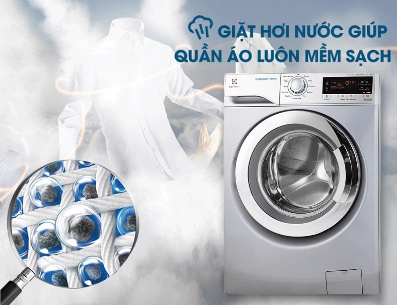 Giặt hơi nước Vapour Care chống nhăn, kháng khuẩn cho quần áo