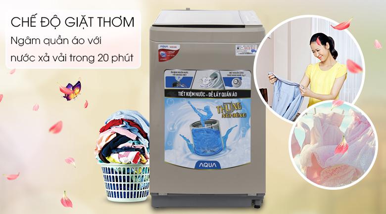 Chế độ giặt thơm - Máy giặt Aqua 8 kg AQW-F800BT N