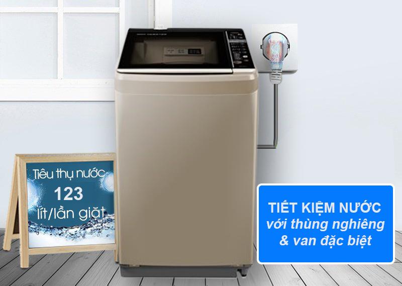 Tiết kiệm nước khi giặt