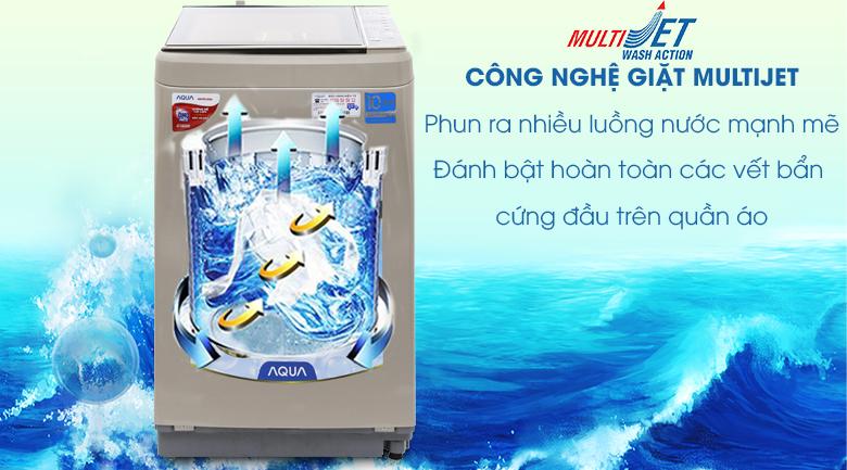 MultiJet - Máy giặt Aqua Inverter 9 kg AQW-D901BT N