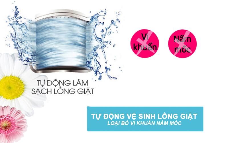 Tiện dụng với chức năng vệ sinh lồng giặt
