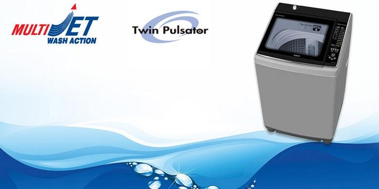 Máy giặt Aqua 10.5 kg AQW-FW105AT S