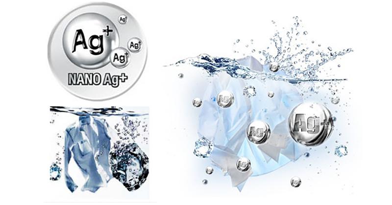 Công nghệ Nano Ag+ diệt khuẩn, khử mùi