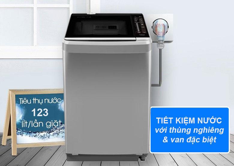 Máy giặt Aqua 8 kg AQW-F800BT S