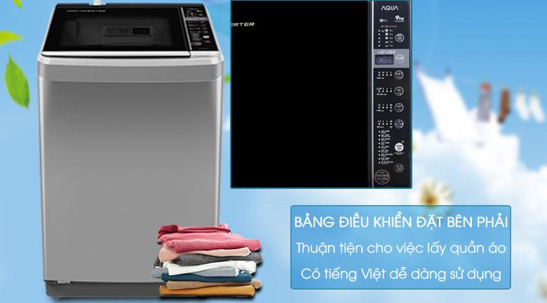 Máy giặt Aqua Inverter 9 kg AQW-D901BT S