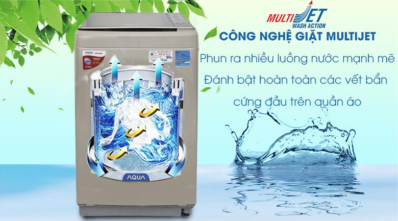 MultiJet - Máy giặt Aqua Inverter 9 kg AQW-D900BT N