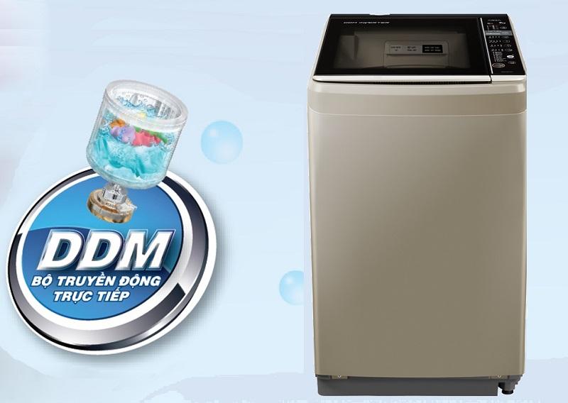 Máy giặt Inverter vận hành êm ái, tiết kiệm điện năng hiệu quả