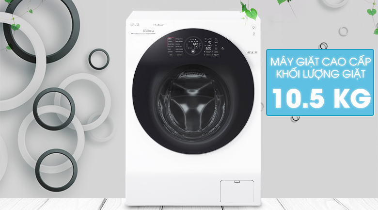 Máy giặt LG Inverter 10.5 kg FG1405S3W