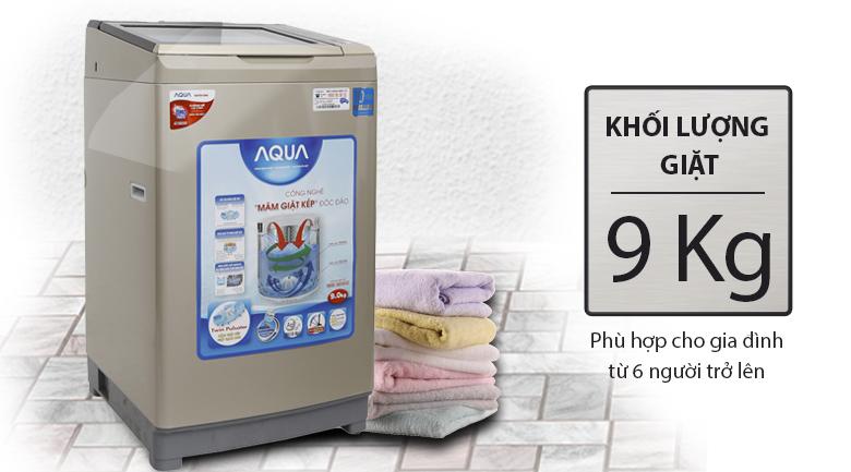 Máy giặt Aqua Inverter 9 kg AQW-DW90AT N