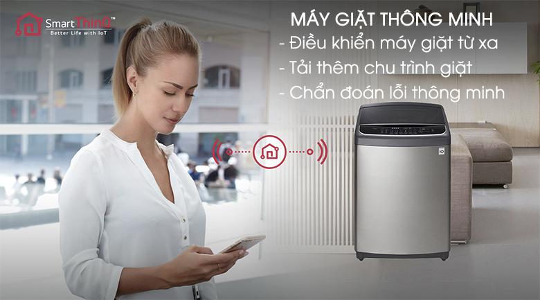 Máy giặt thông minh - Máy giặt LG Inverter 21 kg T2721SSAV