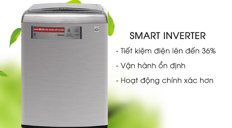 Smart Inverter - Máy giặt LG Inverter 21 kg T2721SSAV