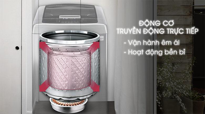Động cơ truyền động trực tiếp - Máy giặt LG Inverter 21 kg T2721SSAV