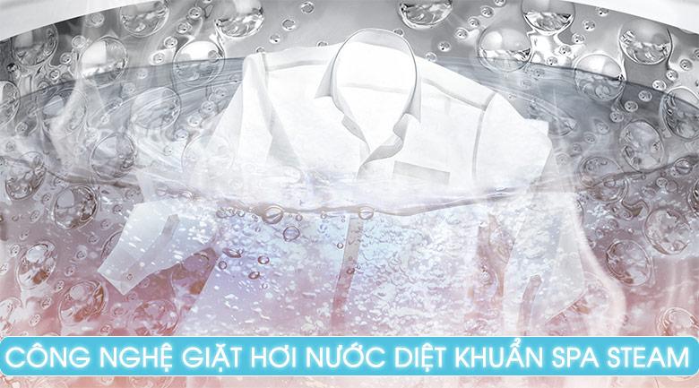 Tính năng giặt nước nóng - Máy giặt LG Inverter 21 kg T2721SSAV