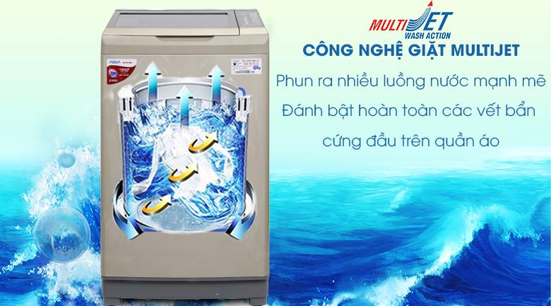 Twin Pulsator - Máy giặt Aqua 9 kg AQW-W90AT N