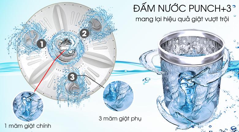 Máy giặt LG Inverter 9.5 kg T2395VS2W – Punch+3