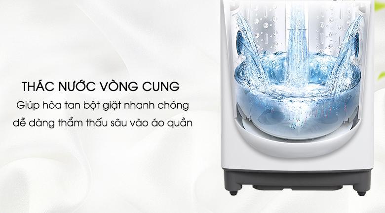Thác nước vòng cung - Máy giặt LG Inverter 9.5 kg T2395VS2W