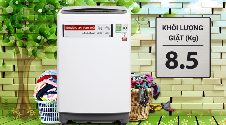 Máy giặt LG Inverter 8.5 kg T2385VS2W