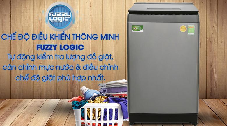 Chế độ điều khiển thông minh Fuzzy Logic - Máy giặt Toshiba Inverter 11 kg AW-DUH1200GV
