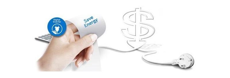 Công nghệ Inverter vận hành êm ái, tiết kiệm điện năng hiệu quả
