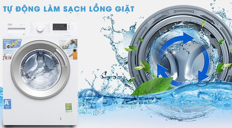 Tự làm sạch lồng giặt - Máy giặt Beko Inverter 7 kg WTE 7512 XS0