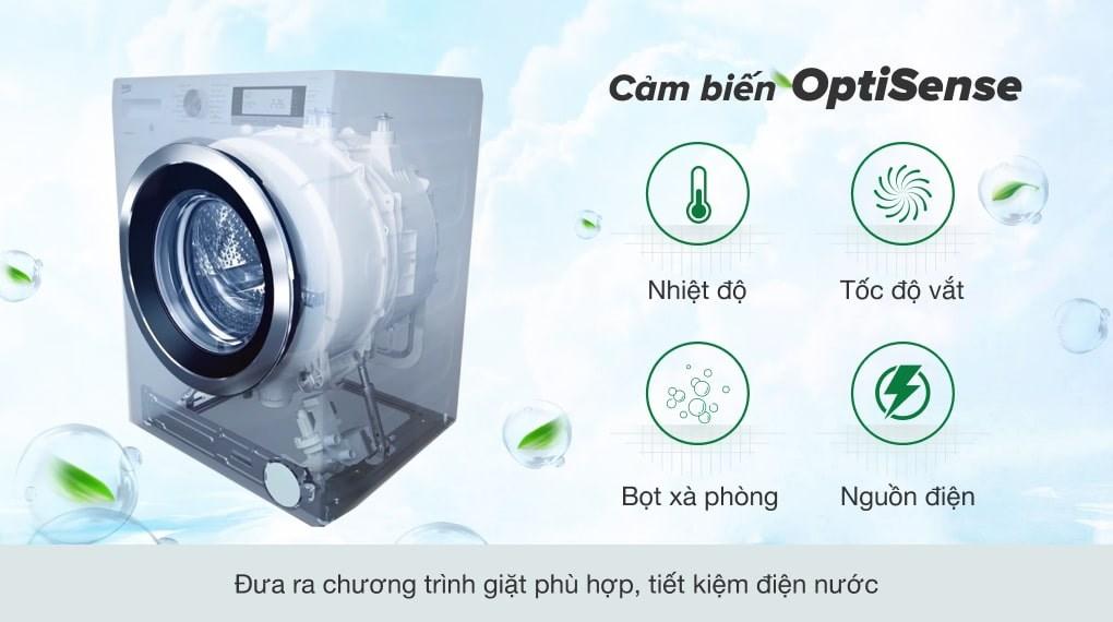 AquaWave Tech - Máy giặt Beko Inverter 8 kg WTV 8512 XS0