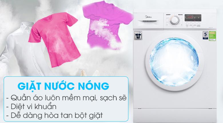 Giặt nước nóng - Máy giặt Midea 9 kg MFD90 -1208