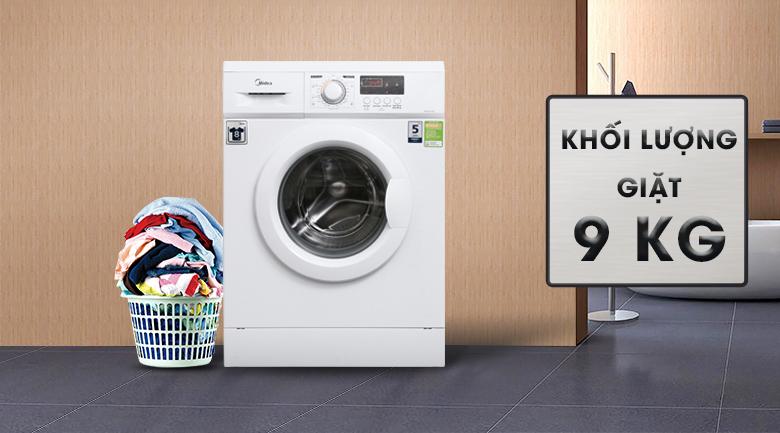 Khối lượng giặt - Máy giặt Midea 9 kg MFD90 -1208