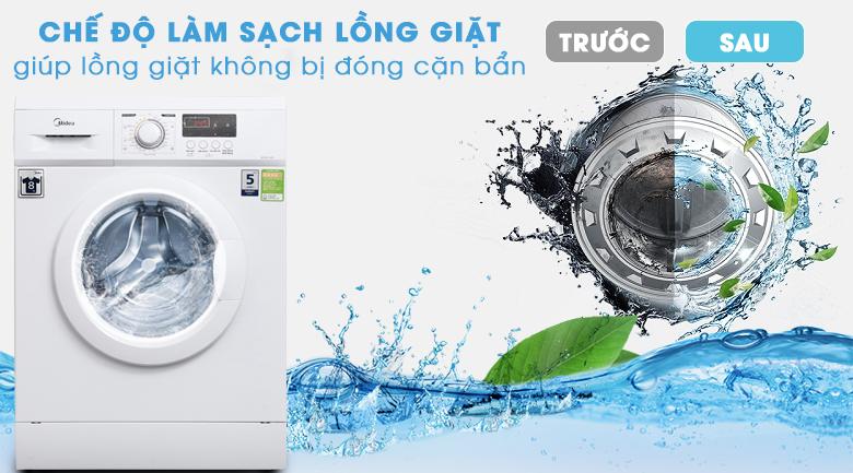 Chế độ làm sạch lồng giặt - Máy giặt Midea 9 kg MFD90 -1208