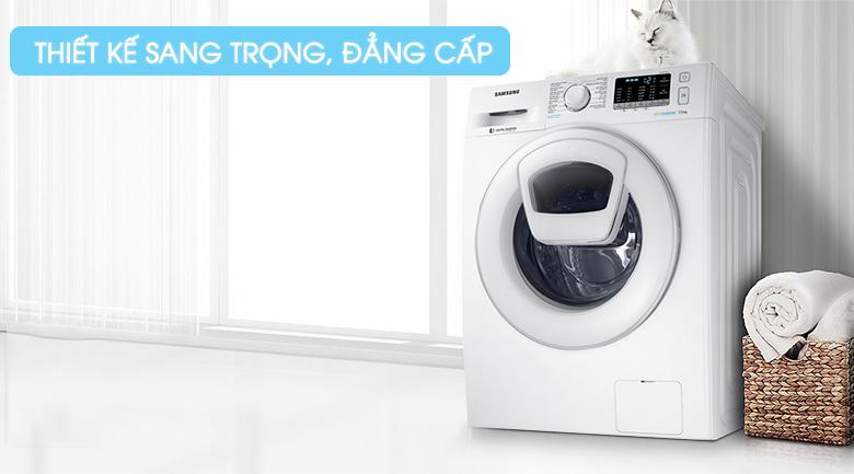 Máy giặt Samsung AddWash Inverter 7.5 kg WW75K52E0WW/SV