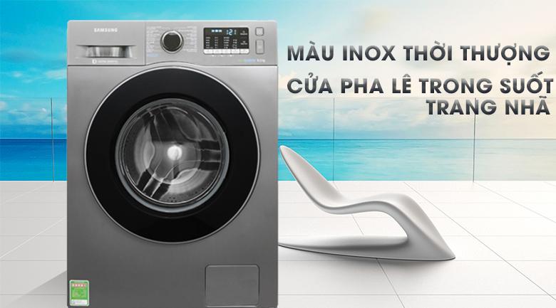 Máy giặt Samsung Inverter 8 kg WW80J54E0BX/SV hình 1
