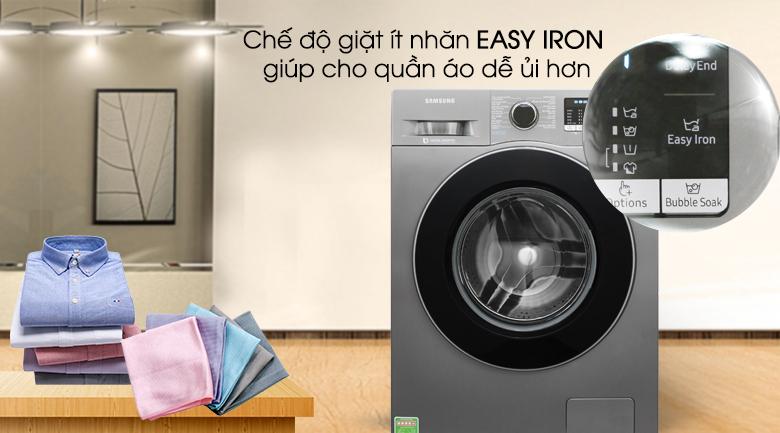 Easy Iron - Máy giặt Samsung Inverter 8 kg WW80J54E0BX/SV