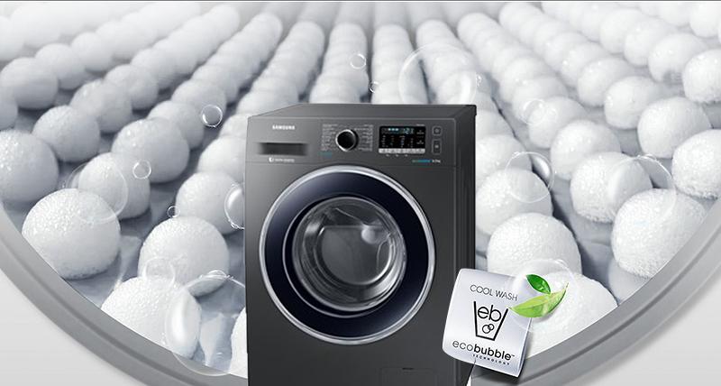 Công nghệ giặt bong bóng ECO Bubble giặt sạch mọi vết bẩn