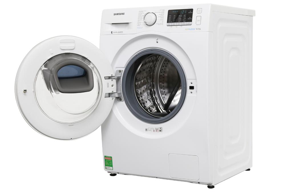 Máy giặt Samsung AddWash Inverter 8 kg WW80K52E0WW/SV hình 2