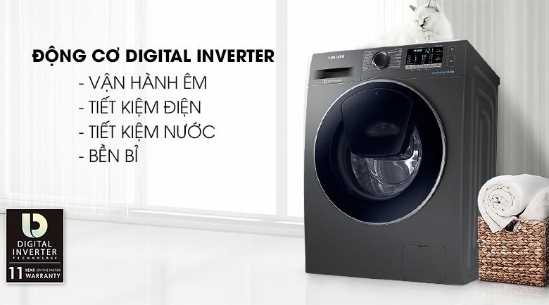 Công nghệ Digital Inverter - Máy giặt Samsung AddWash Inverter 8.5 kg WW85K54E0UX/SV