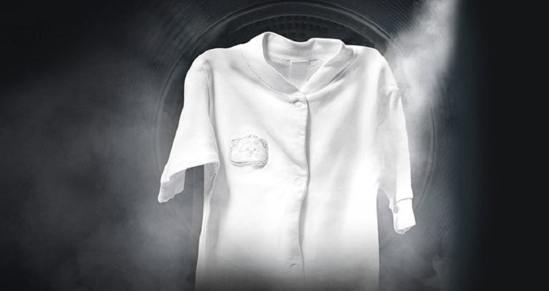 Giặt hơi nước loại bỏ tác nhân gây dị ứng có trong quần áo