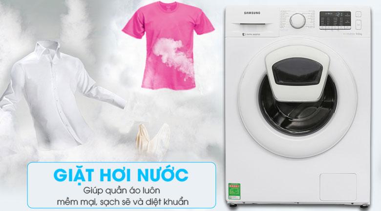 Làm sạch quần áo với chức năng giặt hơi nước Steam Cycles