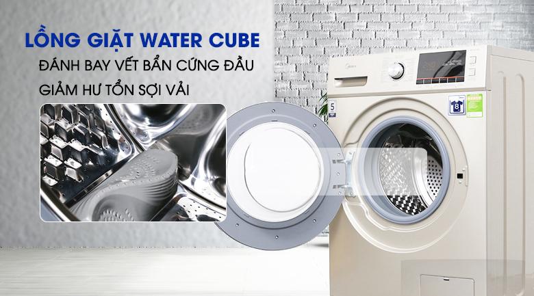 Lồng giặt Water Cube - Máy giặt Midea 8 kg MFC80-1401