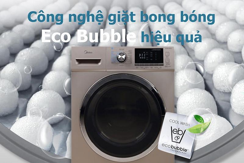 Sạch vượt trội với bong bóng Eco Bubble