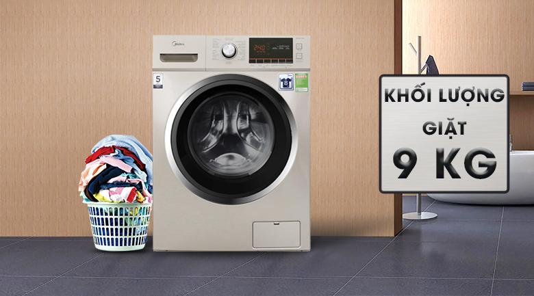 Khối lượng giặt - Máy giặt Midea 9 kg MFC90-1401