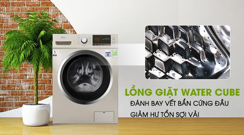 Lồng giặt Water Cube - Máy giặt Midea 9 kg MFC90-1401
