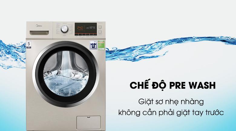 Chế độ Pre Wash - Máy giặt Midea 9 kg MFC90-1401