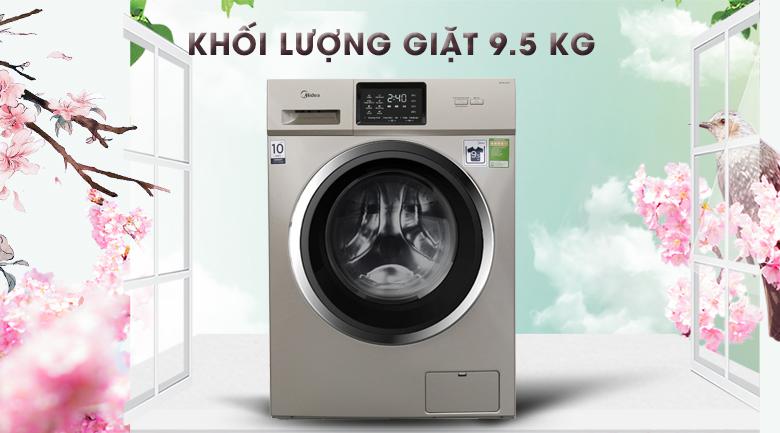 Khối lượng giặt - Máy giặt Midea Inverter 9.5 kg MFC95-1401IN