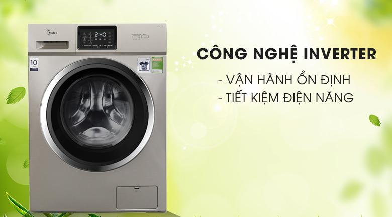 Công nghệ Inverter - Máy giặt Midea Inverter 9.5 kg MFC95-1401IN