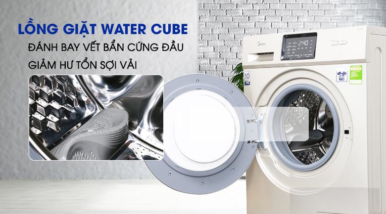 Lồng giặt Water Cube - Máy giặt Midea Inverter 9.5 kg MFC95-1401IN