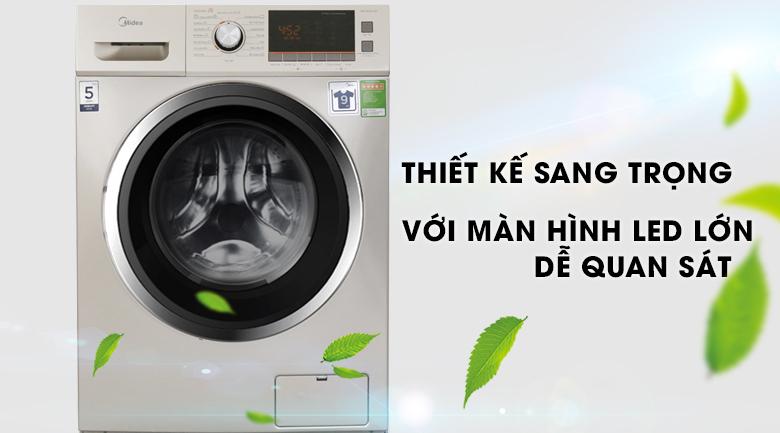 Máy giặt sấy Midea 9 kg MFC90-D1401