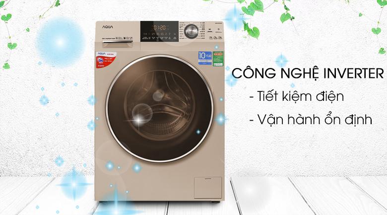Inverter - Máy giặt Aqua Inverter 8.5 kg AQD-DD850A (N2)