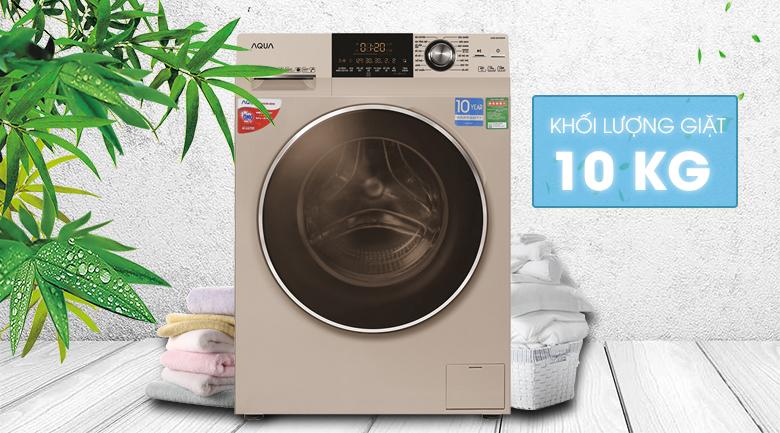 Máy giặt Aqua 10 kg AQD-DD1000A (N2)