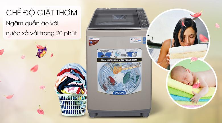 Chế độ giặt thơm - Máy giặt Aqua Inverter 10,5 Kg AQW-DW105AT N